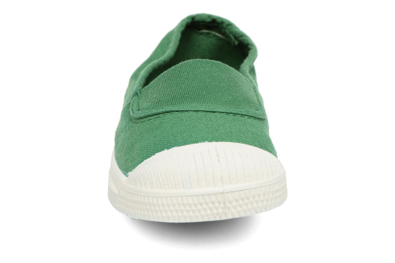 Ballerines Bensimon Tennis Elastique E Vert vue portées chaussures