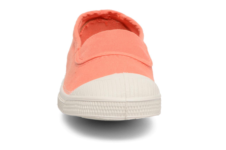 Ballerine Bensimon Tennis Elastique E Arancione modello indossato