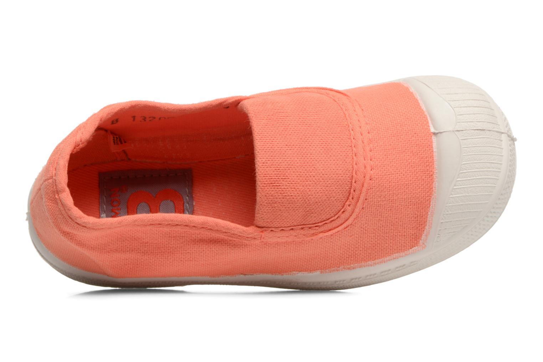 Ballerinas Bensimon Tennis Elastique E orange ansicht von links