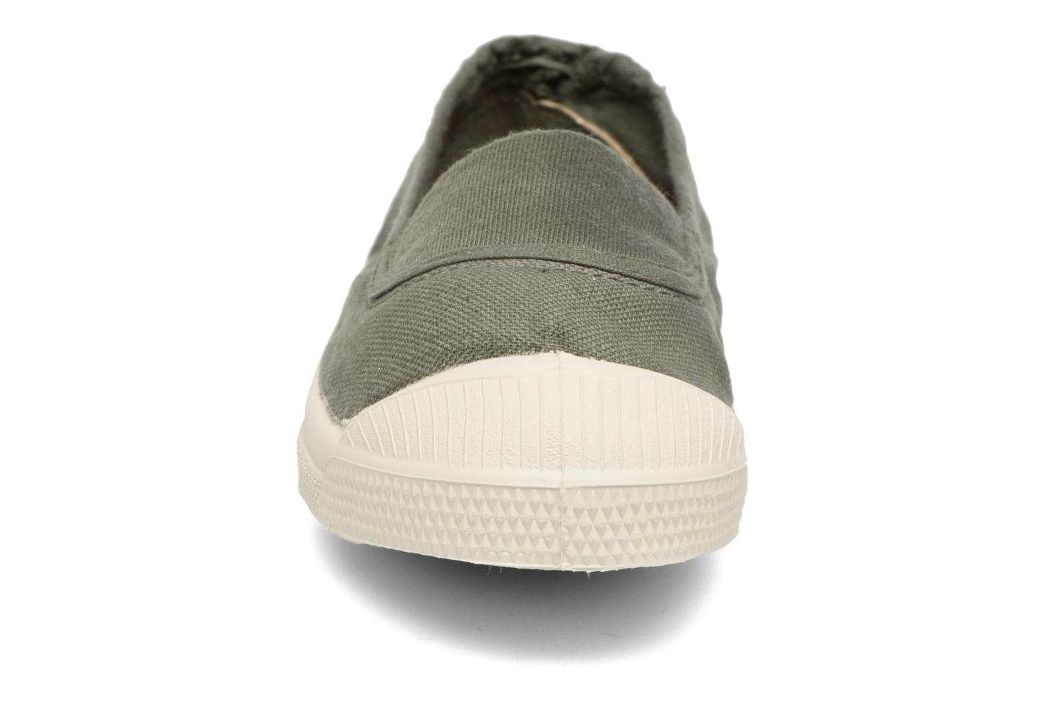 Ballet pumps Bensimon Tennis Elastique E Green model view