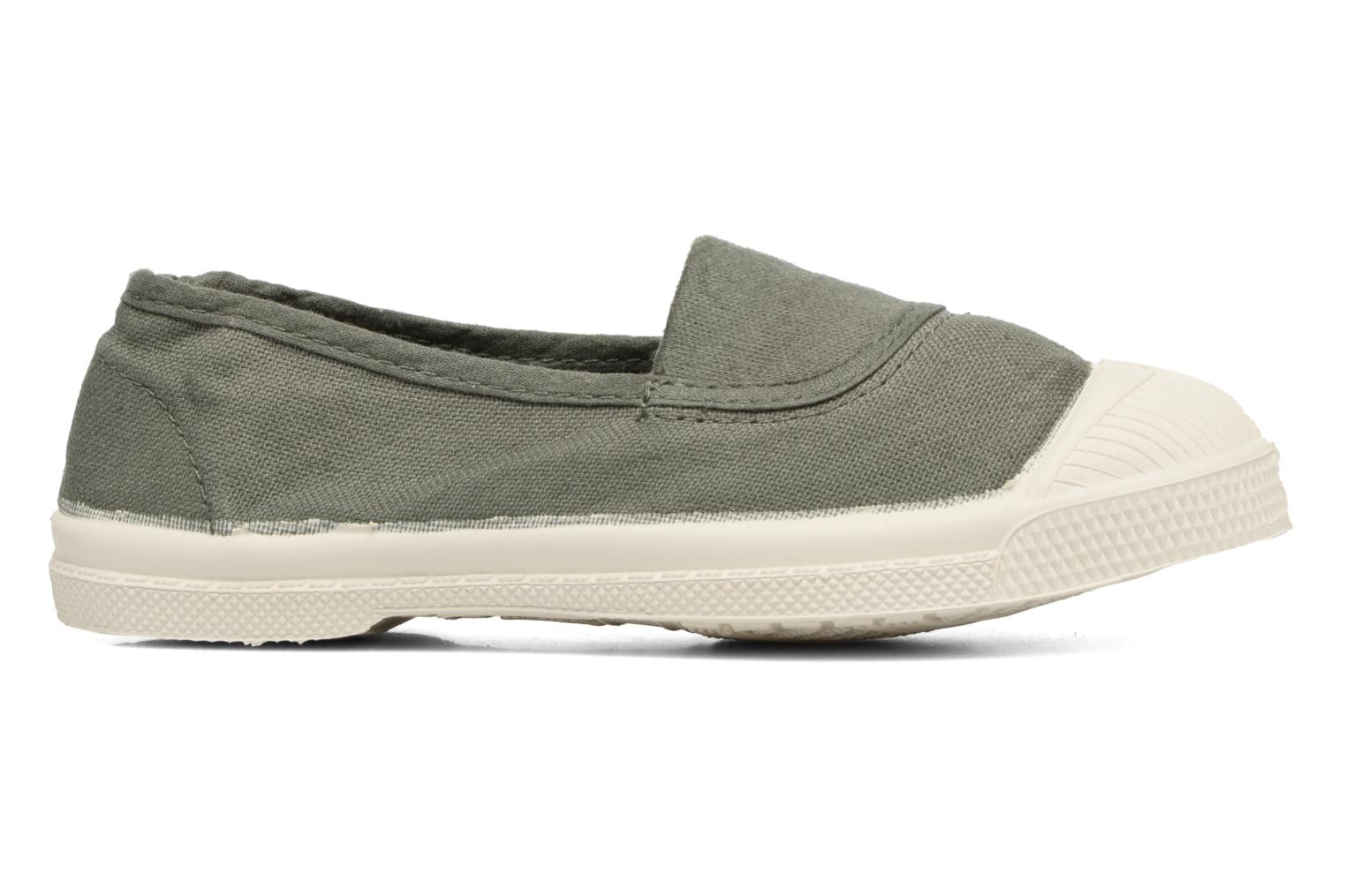 Ballet pumps Bensimon Tennis Elastique E Green back view