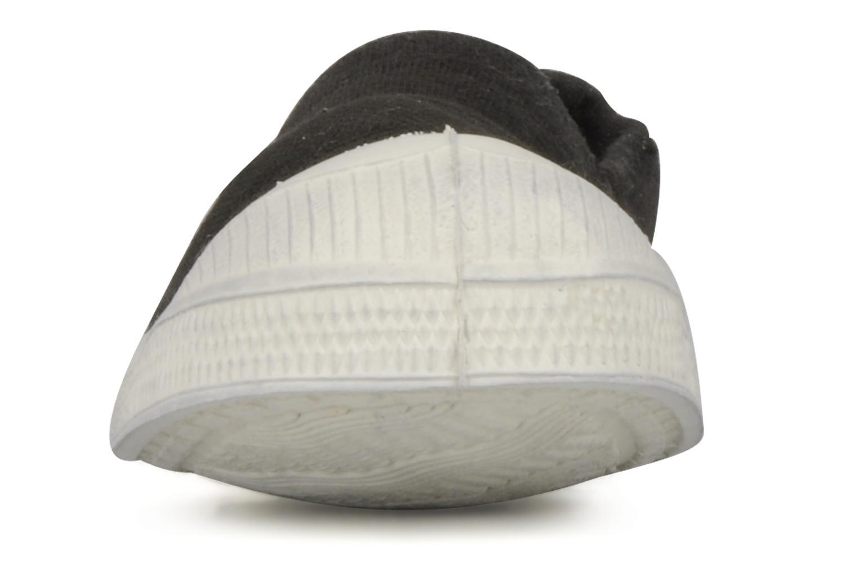 Ballerines Bensimon Tennis Elastique E Noir vue portées chaussures