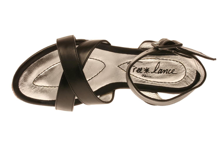 Sandalen Free Lance Lido 7 Ankle schwarz ansicht von links
