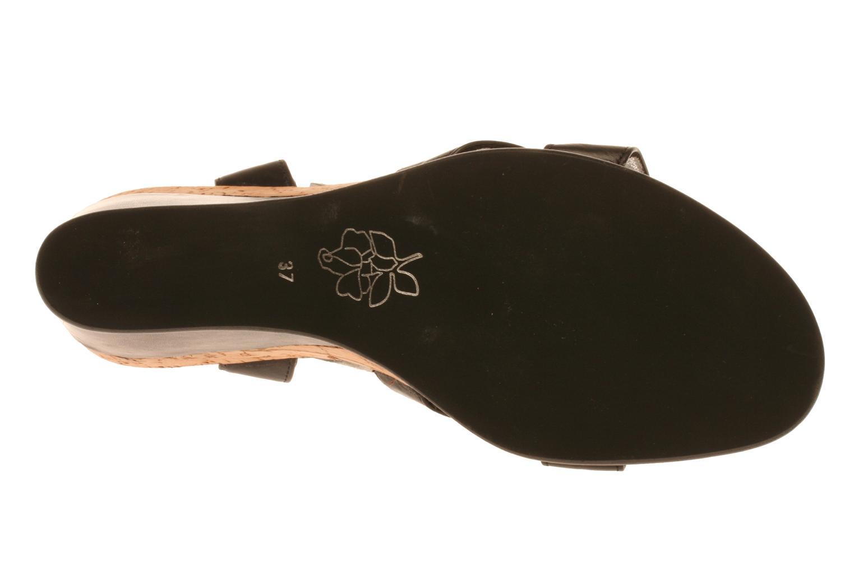 Sandalen Free Lance Lido 7 Ankle schwarz ansicht von oben