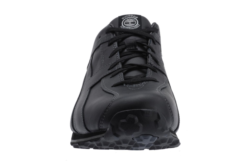 Sneaker Timberland Fells Trainer schwarz schuhe getragen