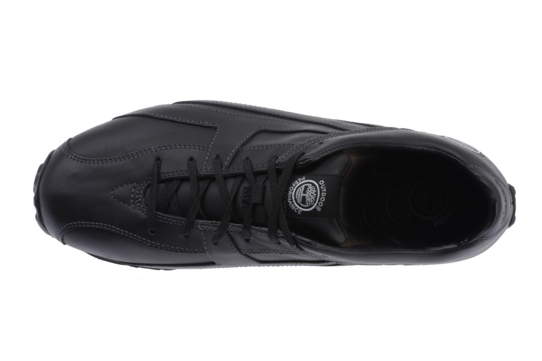 Sneaker Timberland Fells Trainer schwarz ansicht von links