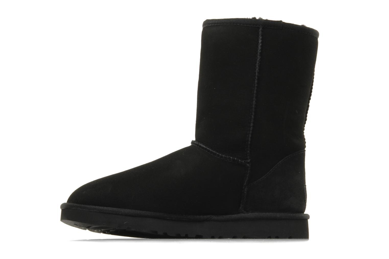 Bottines et boots UGG Classic Short Noir vue face