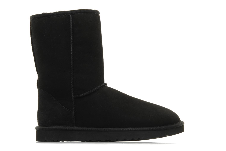 Bottines et boots UGG Classic Short Noir vue derrière