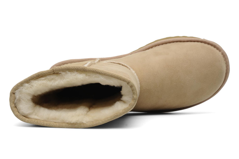 Boots en enkellaarsjes UGG Classic Short Beige links