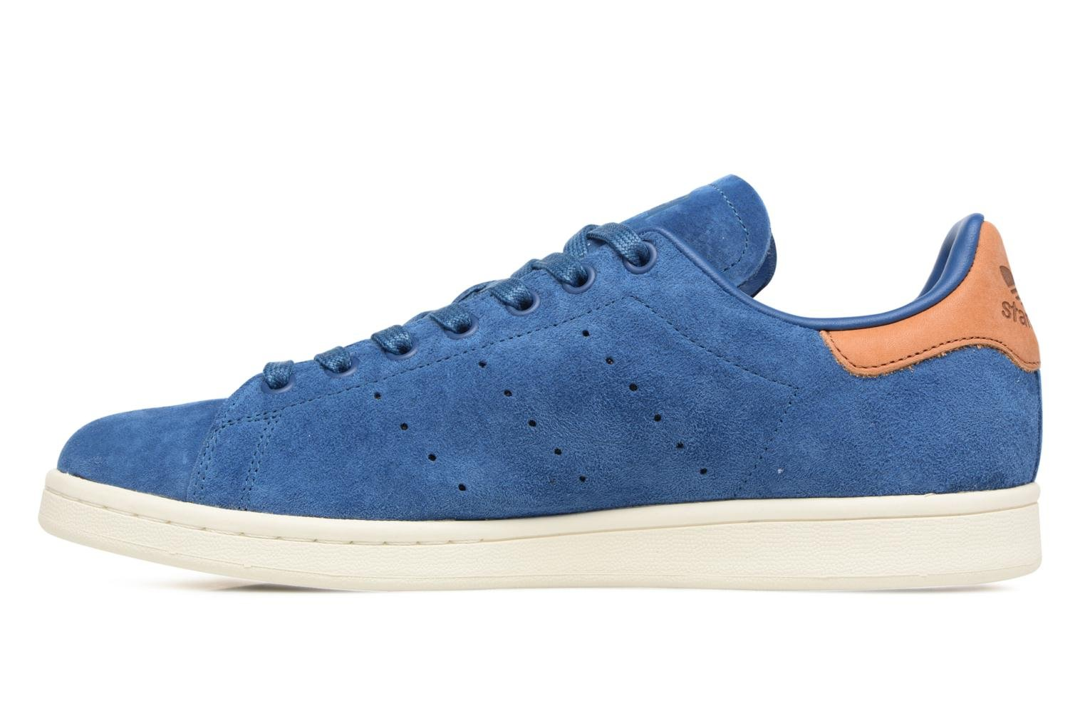 Baskets Adidas Originals Stan Smith Bleu vue face