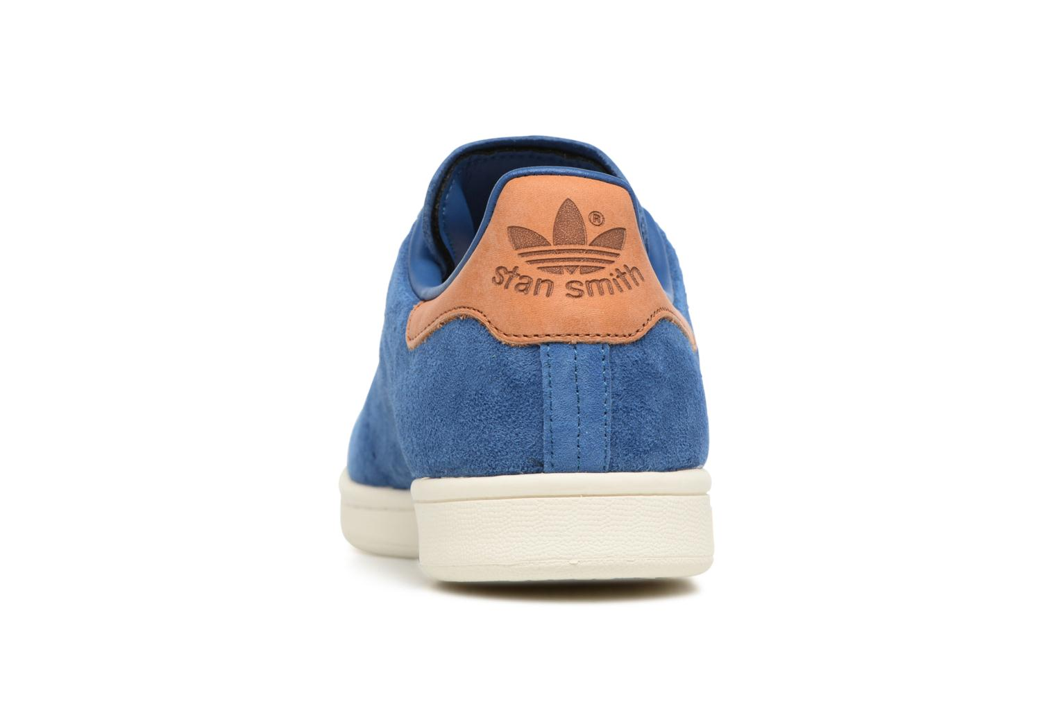 Baskets Adidas Originals Stan Smith Bleu vue droite