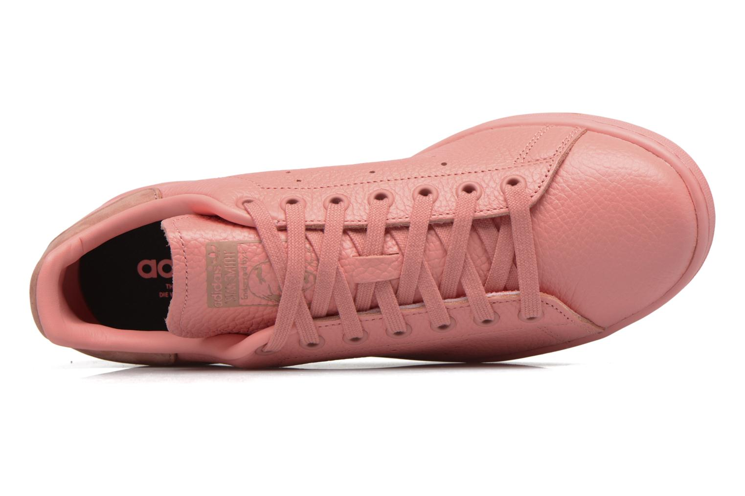 Trainers Adidas Originals Stan Smith Pink view from the left