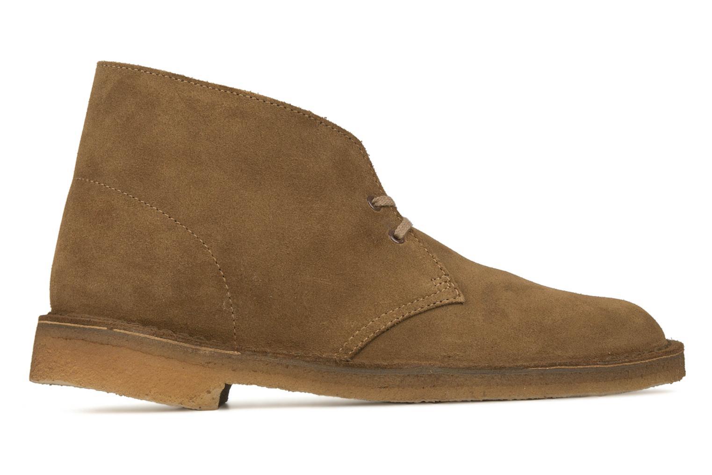 Bottines et boots Clarks Desert Boot M Marron vue derrière