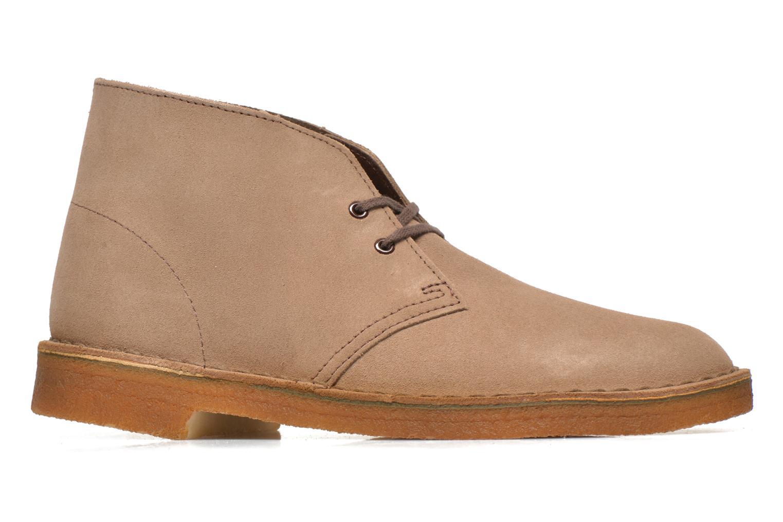 Bottines et boots Clarks Desert Boot M Beige vue derrière