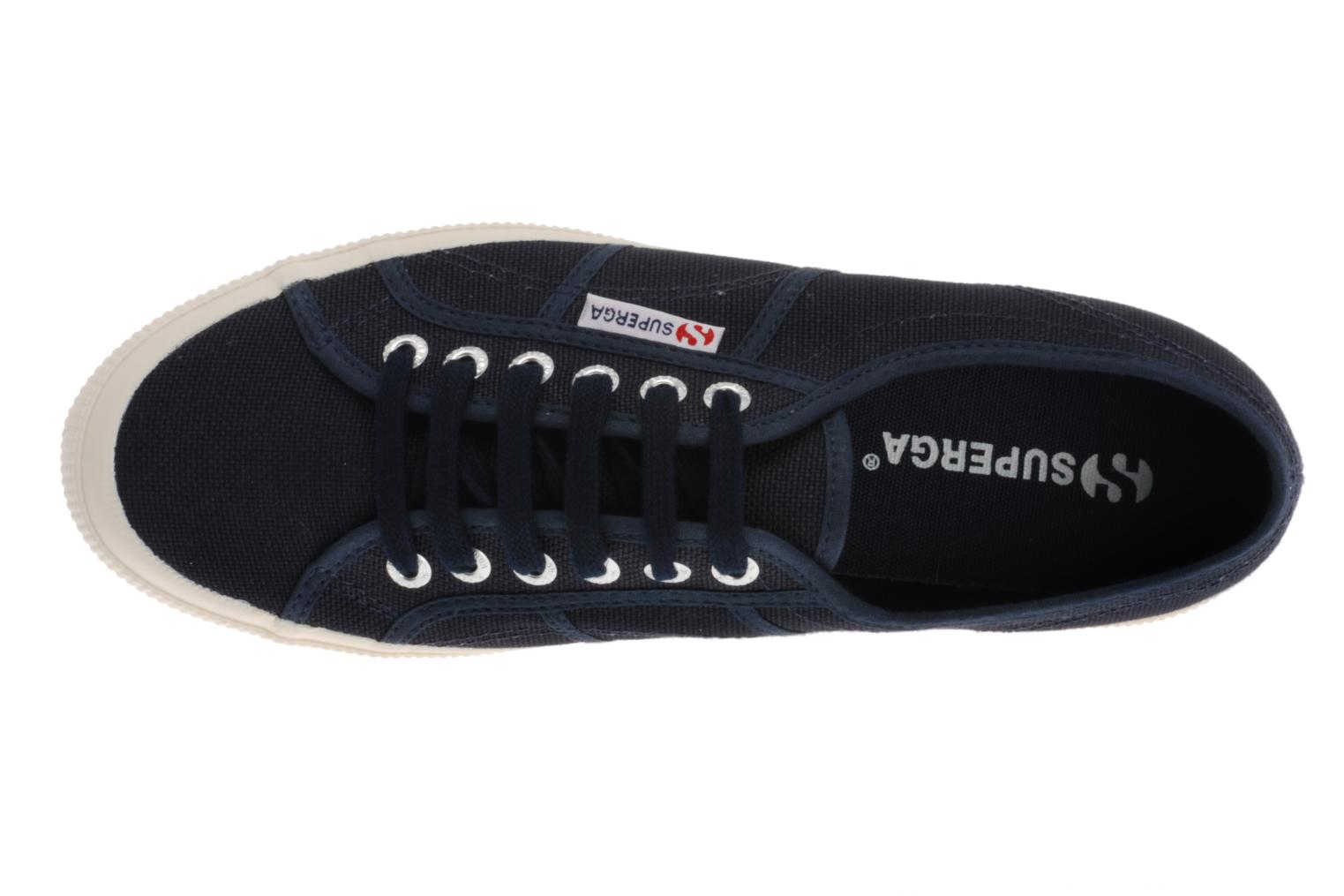 Trainers Superga 2750 Cotu M Blue view from the left