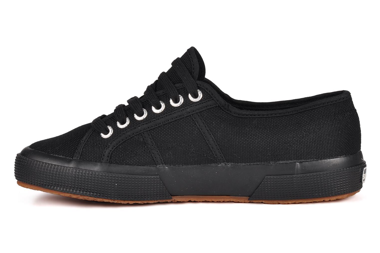 Sneakers Superga 2750 Cotu M Nero immagine frontale