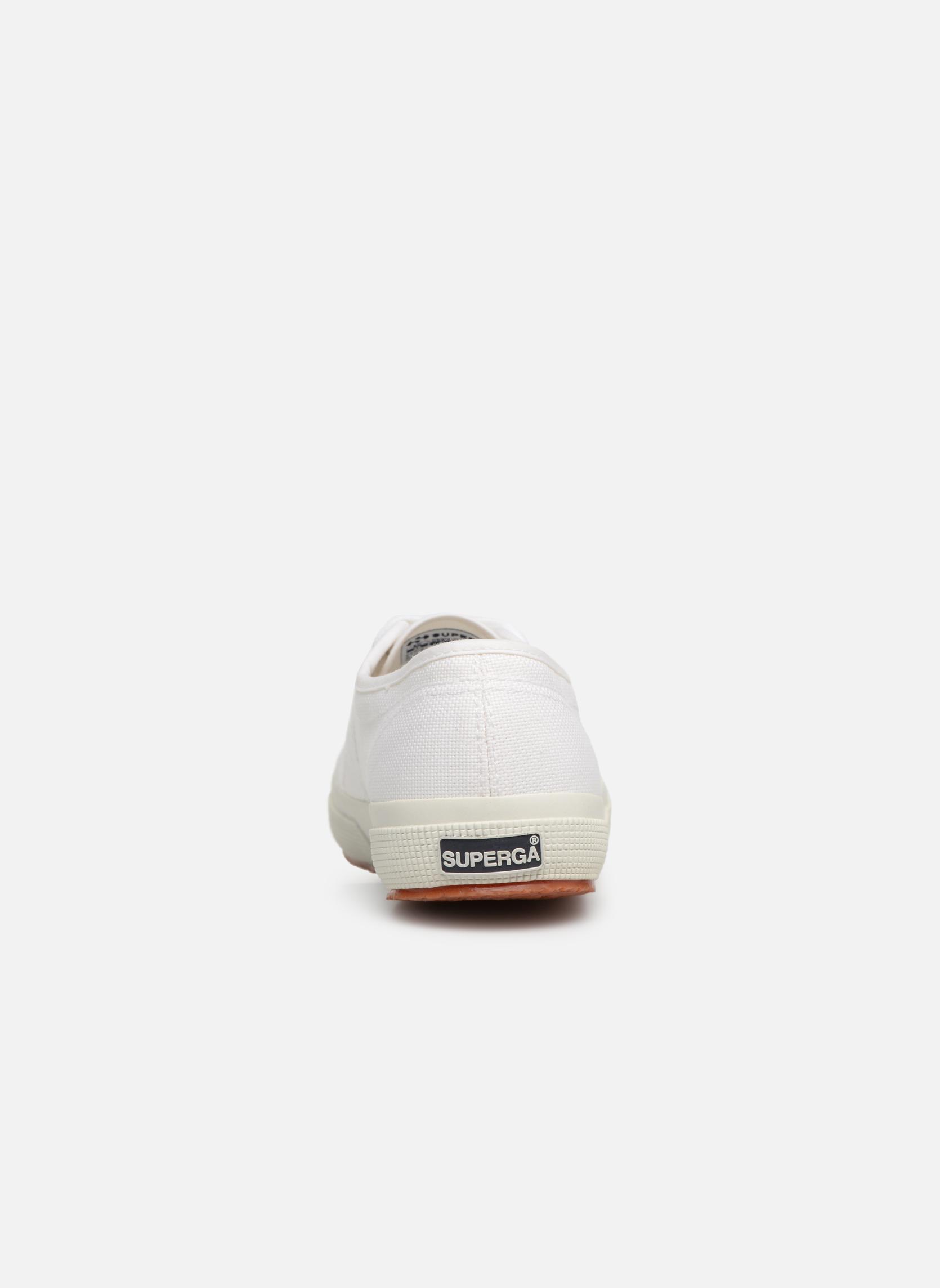 Sneakers Superga 2750 Cotu W Bianco immagine destra