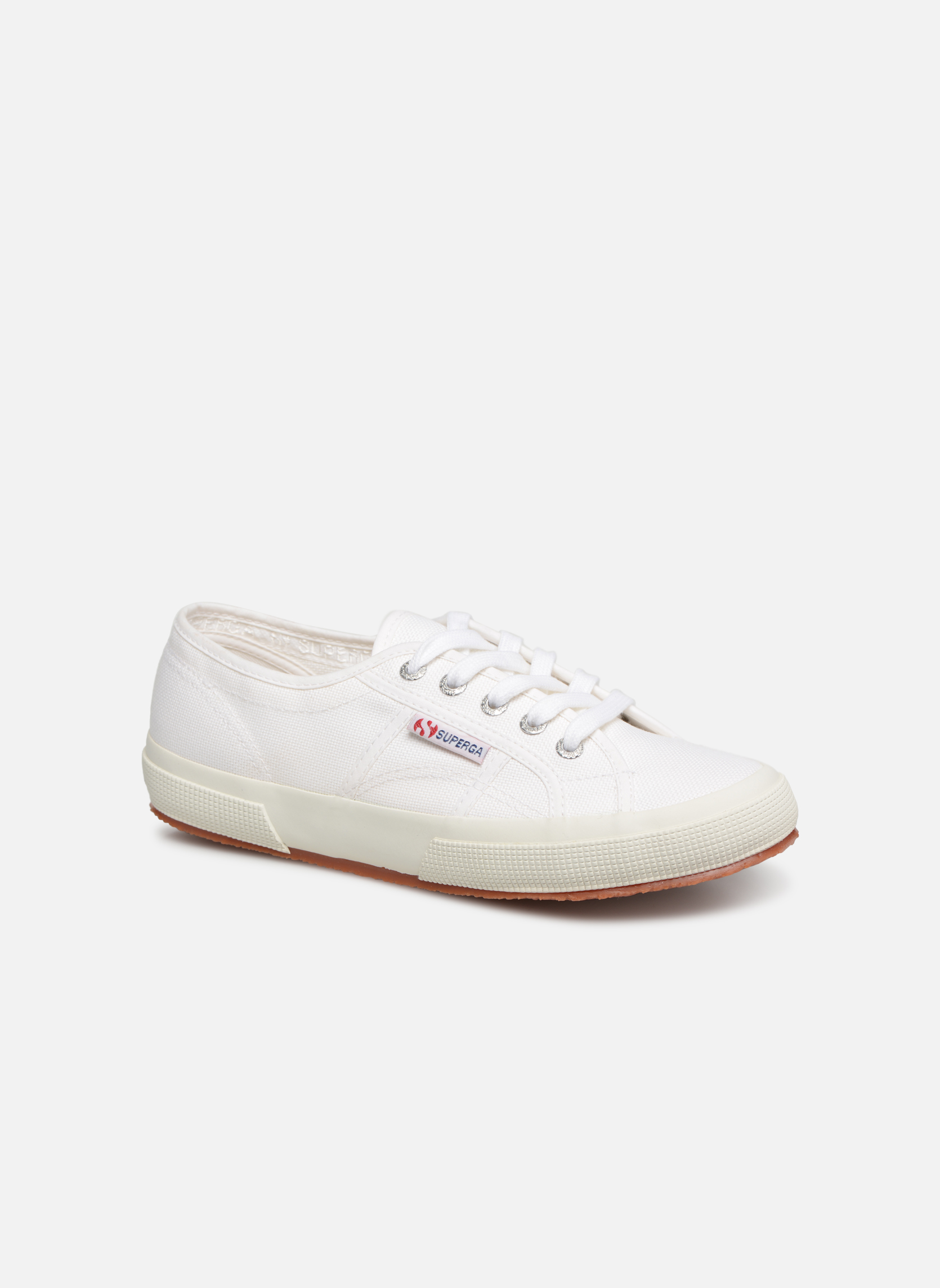 Trainers Superga 2750 Cotu W White detailed view/ Pair view