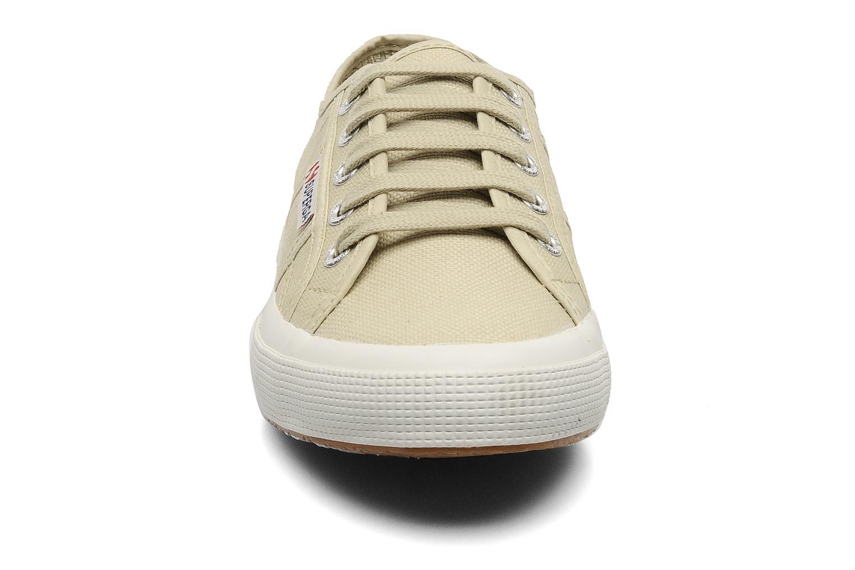 Sneaker Superga 2750 Cotu W beige schuhe getragen
