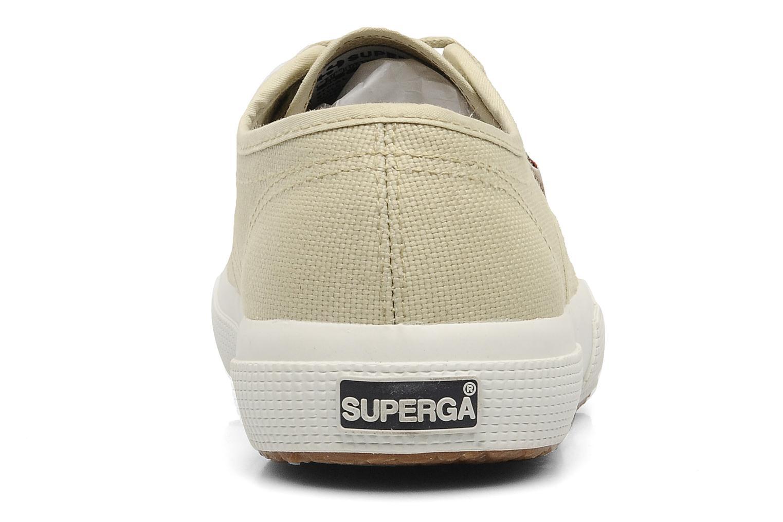Sneaker Superga 2750 Cotu W beige ansicht von rechts