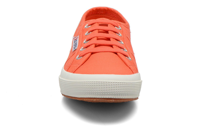 Sneaker Superga 2750 Cotu W orange schuhe getragen