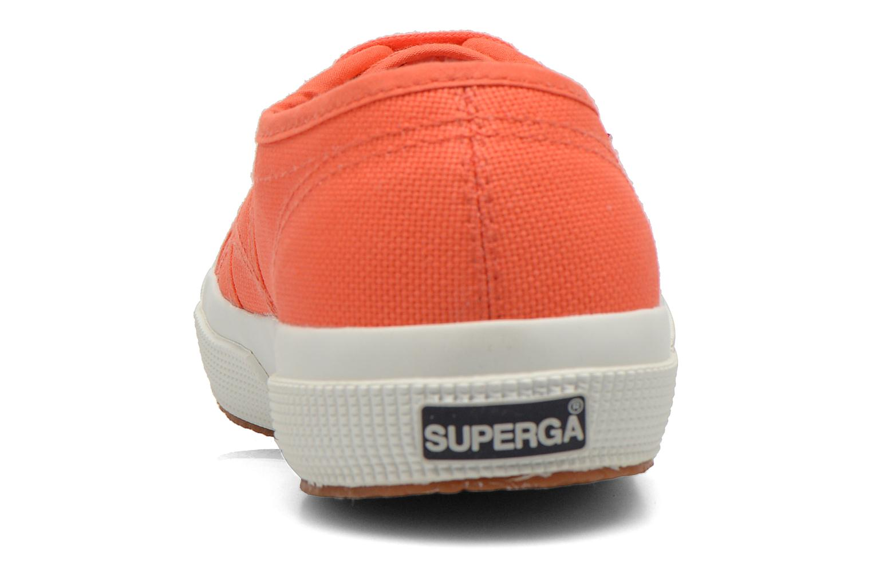 Sneaker Superga 2750 Cotu W orange ansicht von rechts