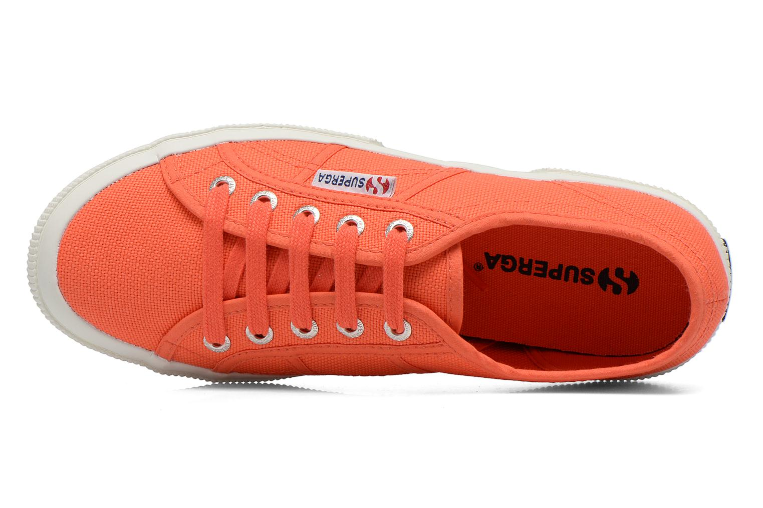 Trainers Superga 2750 Cotu W Orange view from the left