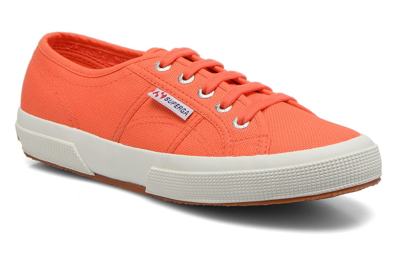 Sneaker Superga 2750 Cotu W orange detaillierte ansicht/modell