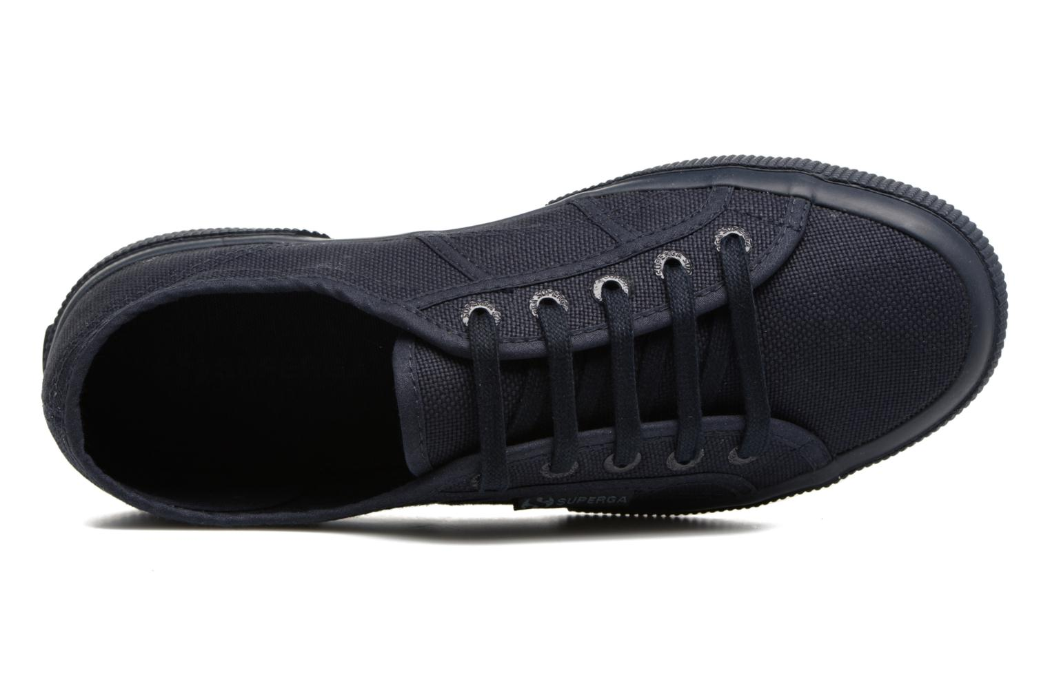 Trainers Superga 2750 Cotu W Blue view from the left