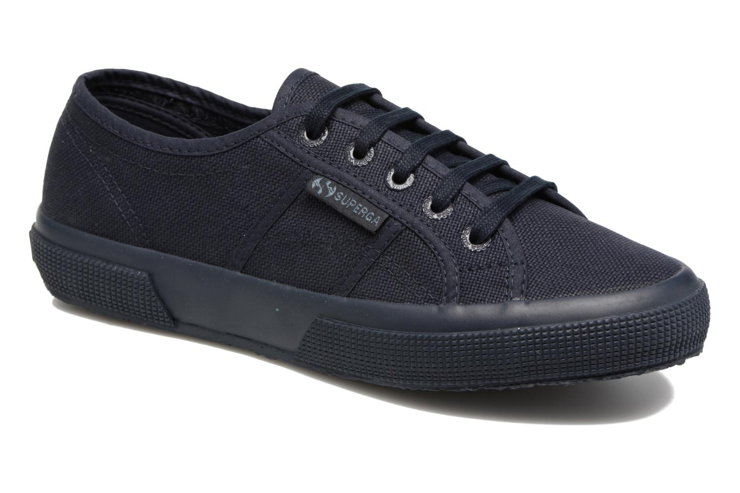 Trainers Superga 2750 Cotu W Blue detailed view/ Pair view