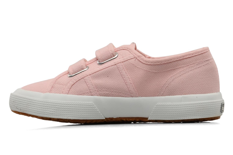 Sneakers Superga 2750 J Velcro E Roze voorkant