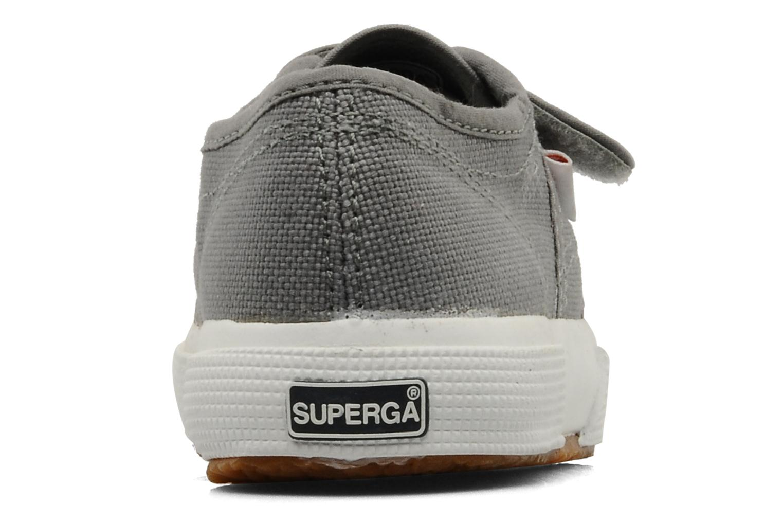 Sneakers Superga 2750 J Velcro E Grijs rechts