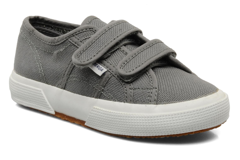 Sneakers Superga 2750 J Velcro E Grijs detail