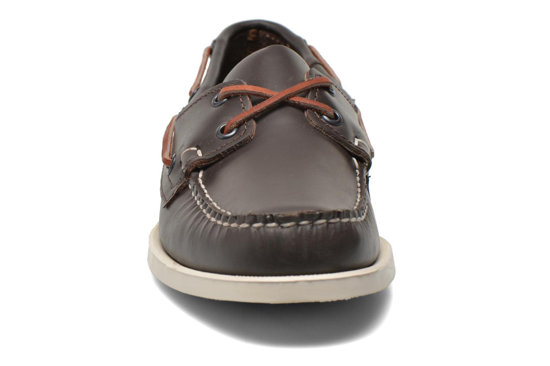 Chaussures à lacets Sebago Docksides M Bordeaux vue portées chaussures