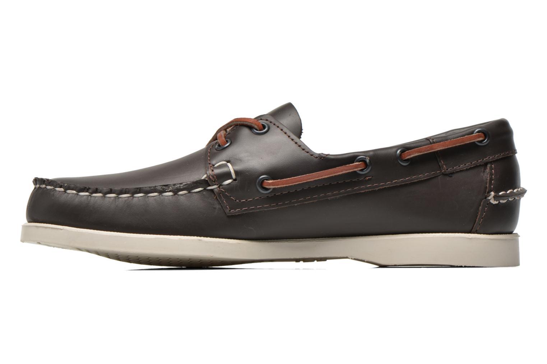 Chaussures à lacets Sebago Docksides M Bordeaux vue face