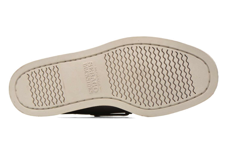Chaussures à lacets Sebago Docksides M Bordeaux vue haut