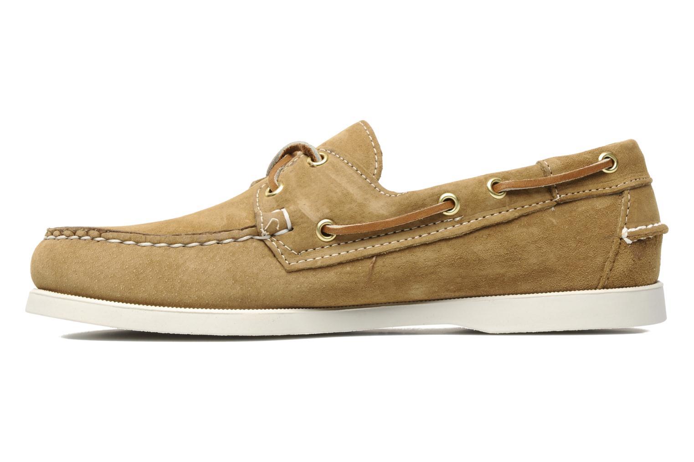 Chaussures à lacets Sebago Docksides M Beige vue face