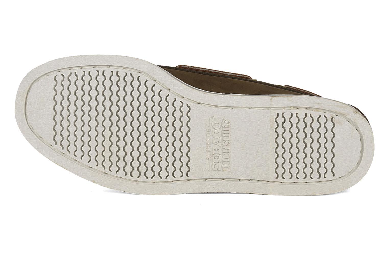 Zapatos con cordones Sebago Docksides M Marrón vista de arriba