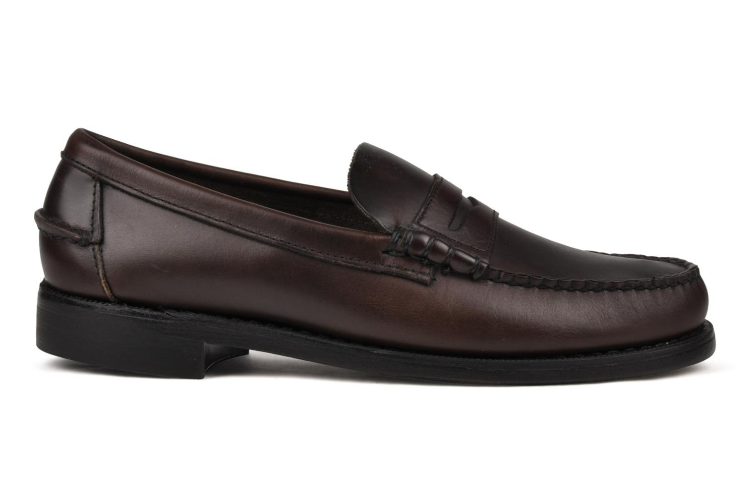 Loafers Sebago Classic Brown back view