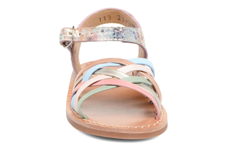 Sandals Pom d Api Yapo Lux Multicolor model view