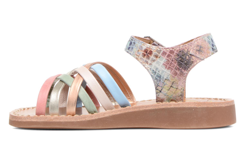 Sandales et nu-pieds Pom d Api Yapo Lux Multicolore vue face