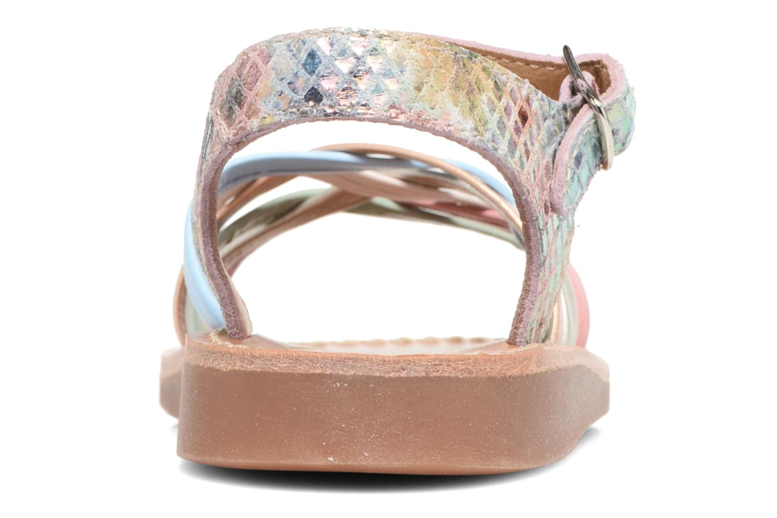 Sandals Pom d Api Yapo Lux Multicolor view from the right