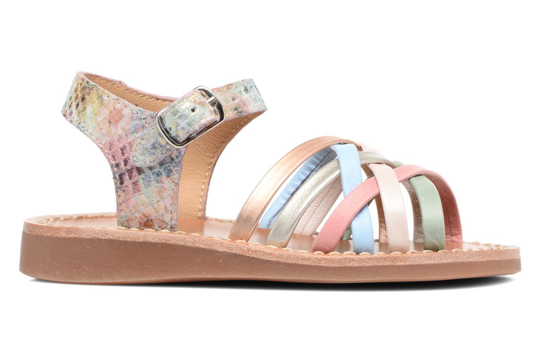 Sandalen Pom d Api Yapo Lux mehrfarbig ansicht von hinten