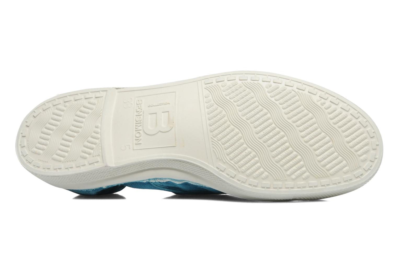 Sneakers Bensimon Tennis Lacets Blauw boven