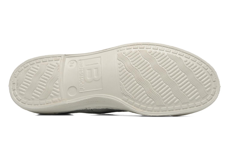 Sneaker Bensimon Tennis Lacets grau ansicht von oben