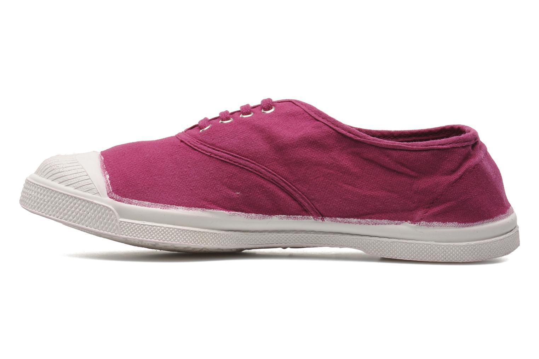 Sneakers Bensimon Tennis Lacets Paars voorkant