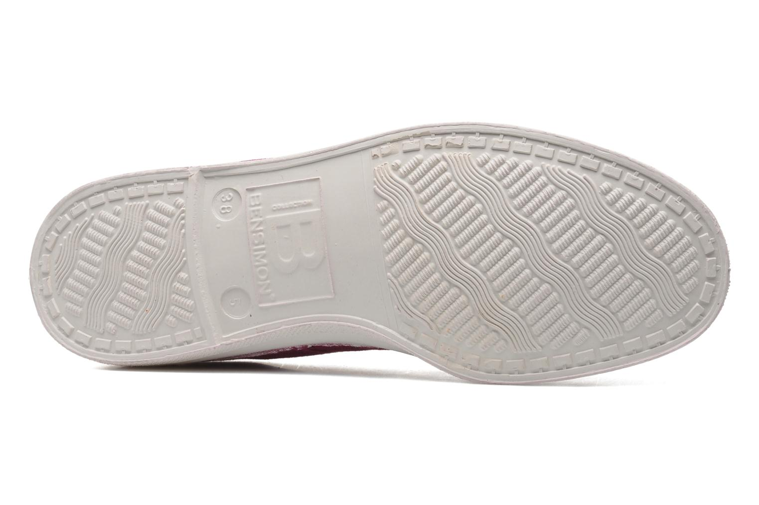 Sneakers Bensimon Tennis Lacets Paars boven