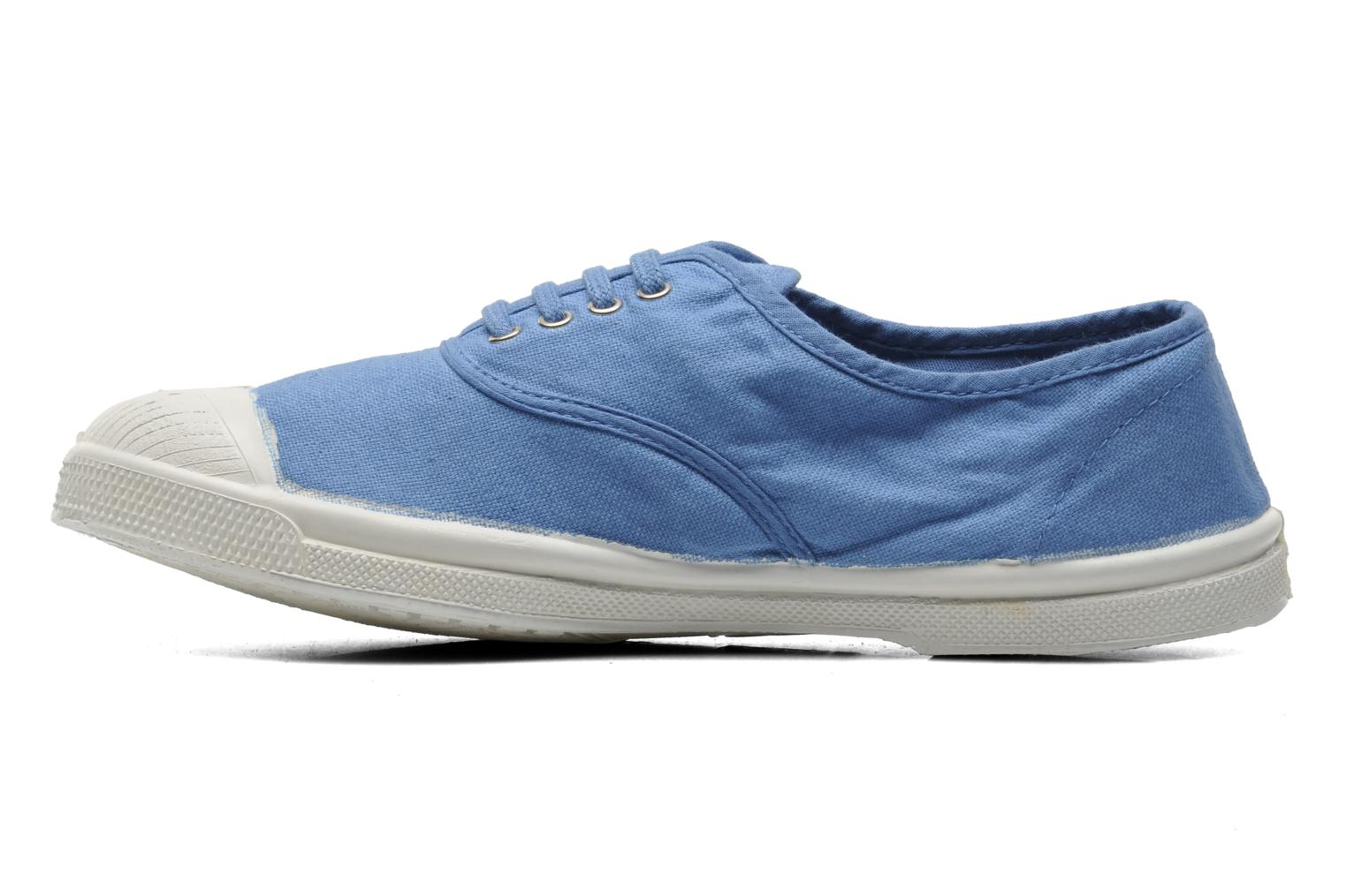 Trainers Bensimon Tennis Lacets Blue front view