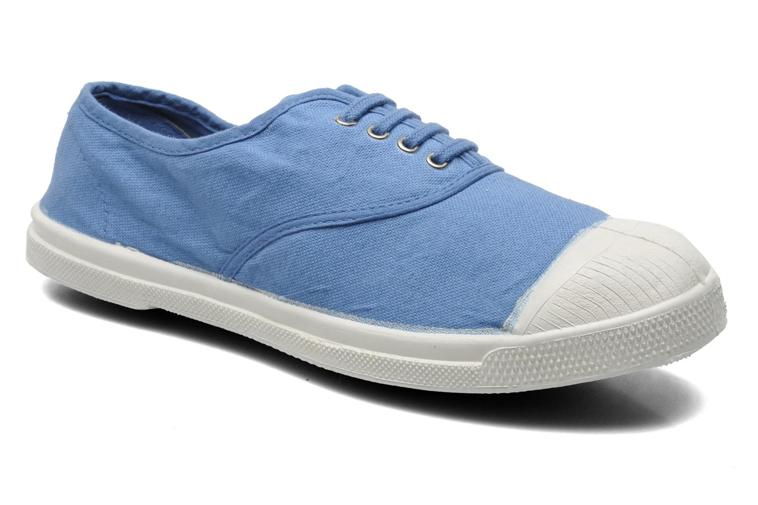 Sneakers Bensimon Tennis Lacets Blauw detail