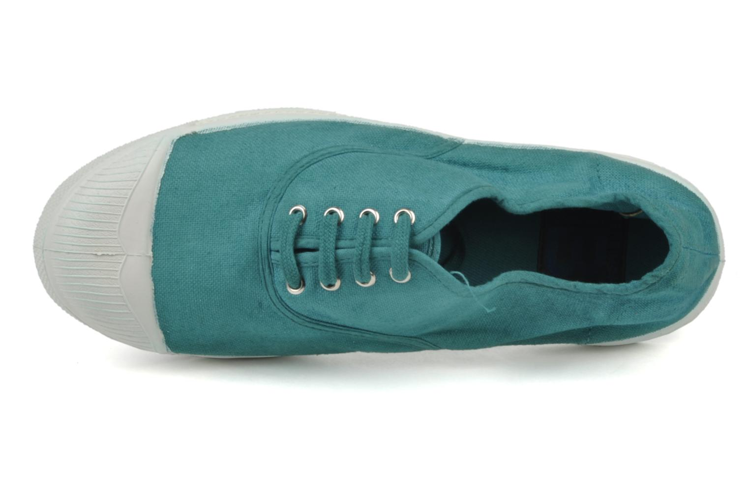 Tennis Lacets Vert Turquoise